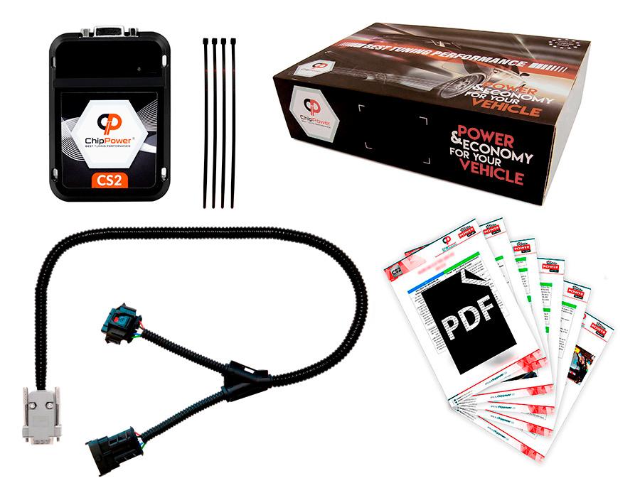 Centralina Aggiuntiva ChipPower CS2 per Punto Evo 1.2 69 CV 2009-2014 Benzina